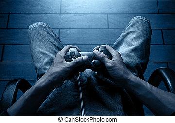 videospiele, spielende