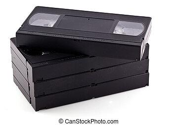 Videotapes.