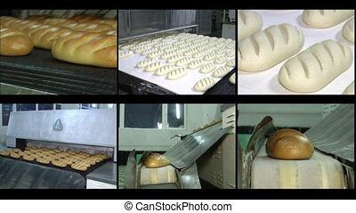 Videowall bread
