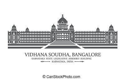 vidhana, bangalore, soudha