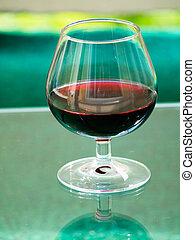 vidrio, bebida, alcohólico