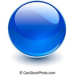 vidrio, blye, esfera