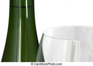 vidrio, botella