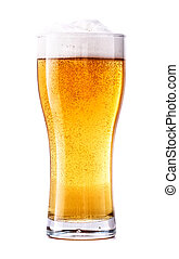 vidrio, cerveza, fresco