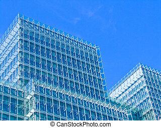 vidrio, estructura