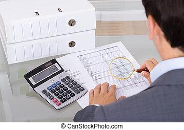 vidrio, fraude, aumentar, auditor, investigar