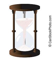 vidrio, hora