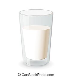 vidrio leche