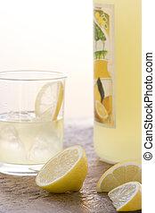 vidrio, limoncello