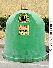 vidrio, reciclaje