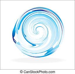 vidrio, resumen, esfera