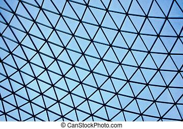 vidrio, triángulo