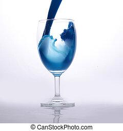 vidrio, vino