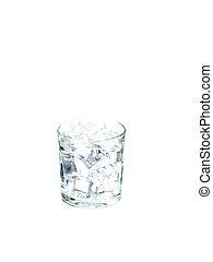 vidro água, gelo