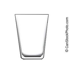 vidro, bebendo