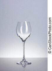 vidro, branca, vazio, vinho