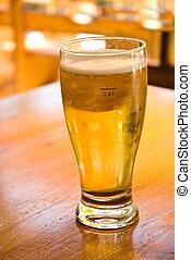 vidro, cerveja, bar