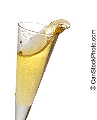 vidro champanhe