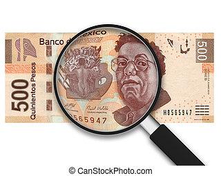 vidro, -, magnificar, 500, pesos