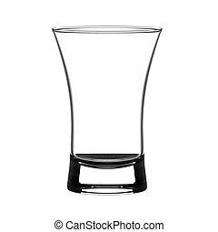 vidro, tiro