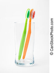 vidro, toothbrushes