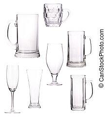 vidro, vazio, cobrança