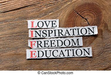 vie, amour, inspiration