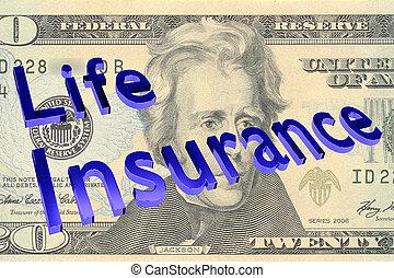 vie, concept, assurance