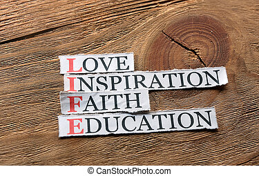 vie, education, inspiration