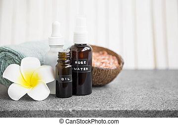 vie, fleur, naturel, skincare, produits, spa, encore