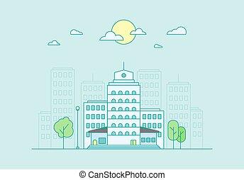 vie ville, concept
