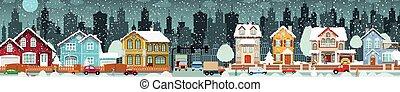 vie ville, (winter)