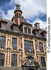 Vieille Bourse in Lille - A view of the magnificent Vieille ...