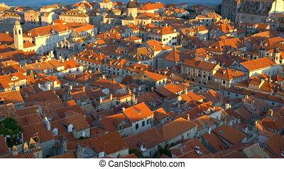 vieille ville, historique, dubrovnik, croatia., ville