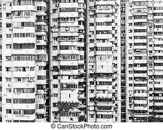 viejo, apartamentos, en, chongqing