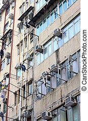 viejo, apartamentos, en, hong kong