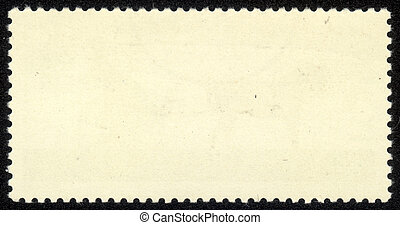 viejo, blanco, sello