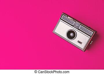 viejo, cámara, foto, clásico