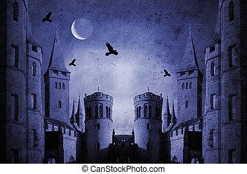 viejo, castillo