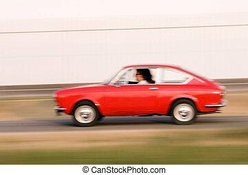 viejo, coche