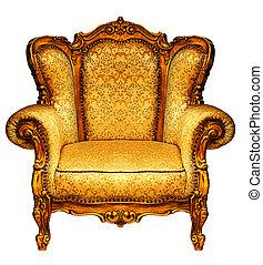 viejo, elbow-chair
