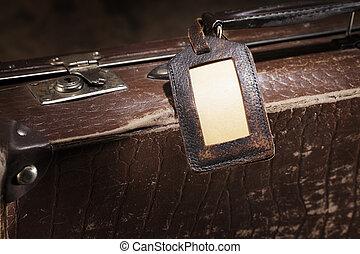 viejo, equipaje