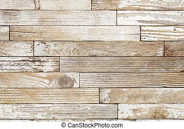 viejo, grunge, pintado, madera