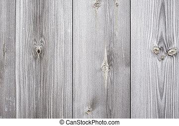 viejo, madera, afligido