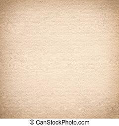 viejo, papel marrón, plano de fondo