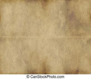 viejo, papel, o, pergamino