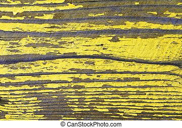 viejo, pared pintada