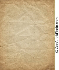 viejo, pergamino, papel