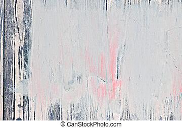 viejo, pintado, madera, plano de fondo