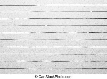 viejo, rayado, papel cuaderno, plano de fondo, o, textured
